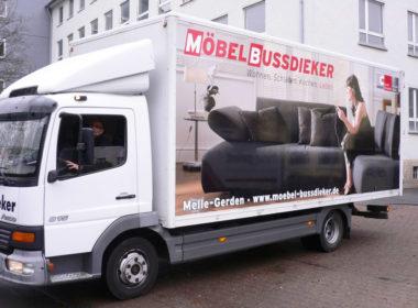 LKW-Werbung