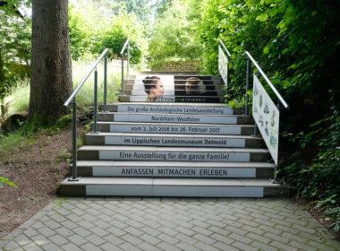 Treppenaufkleber